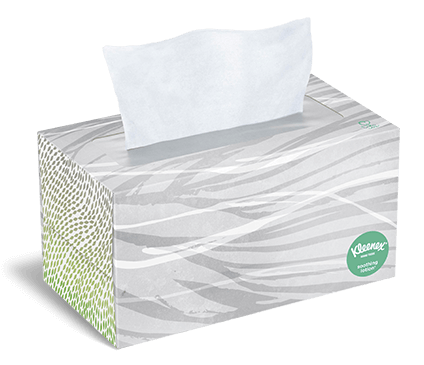 Kleenex® Soothing Lotion Tissues flat box 170 count aster
