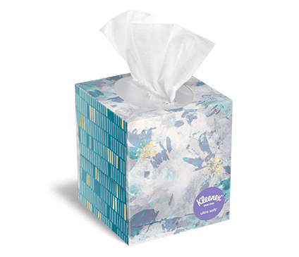 Kleenex® Ultra Soft Tissues upright box 85 count siazan 2